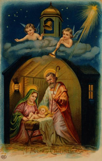 Stock Photo: 535-144853 Nativity with Angels