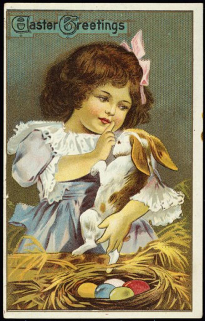 Easter Greetings Nostalgia  : Stock Photo