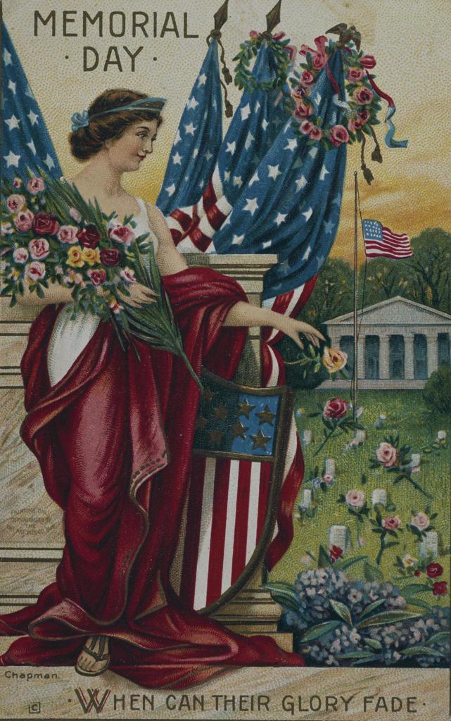 Stock Photo: 535-145820 Memorial Day, Nostalgia cards