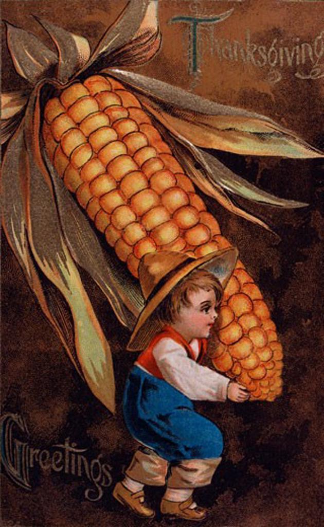 Stock Photo: 535-145823 Thanksgiving Nostalgia Cards