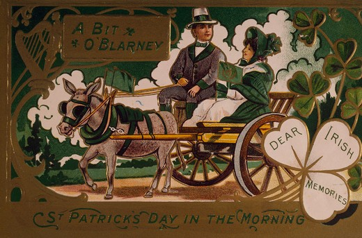 Stock Photo: 535-145849 Bit O'Blarney-Dear Irish Memories, Nostalgia Cards