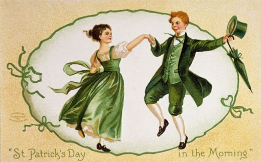 Stock Photo: 535-145852 St. Patrick's Day in the Morning