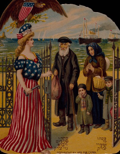 Stock Photo: 535-145881 Lady Liberty, Nostalgia Cards
