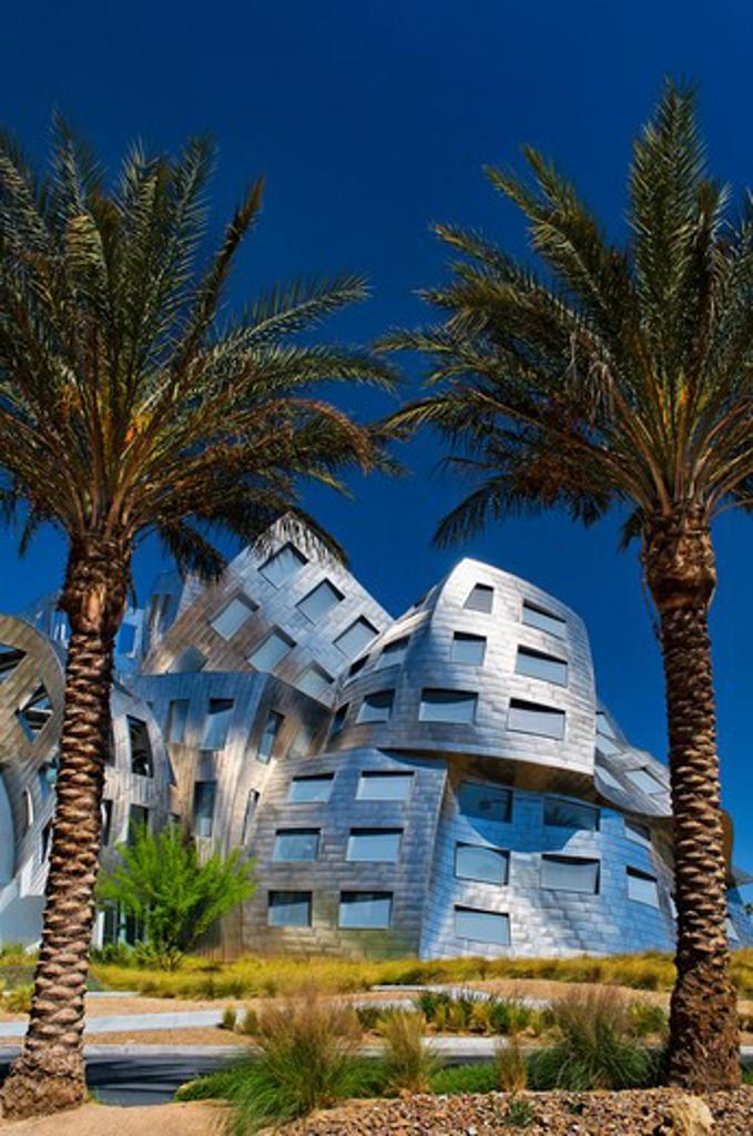 Stock Photo: 618-401 USA, Nevada, Las Vegas, Cleveland Clinic Lou Ruvo Center for Brain Health in Las Vegas, Nevada