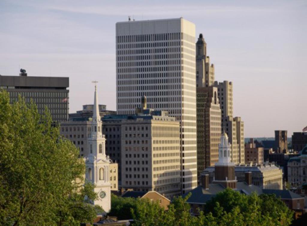 Providence Rhode Island USA : Stock Photo
