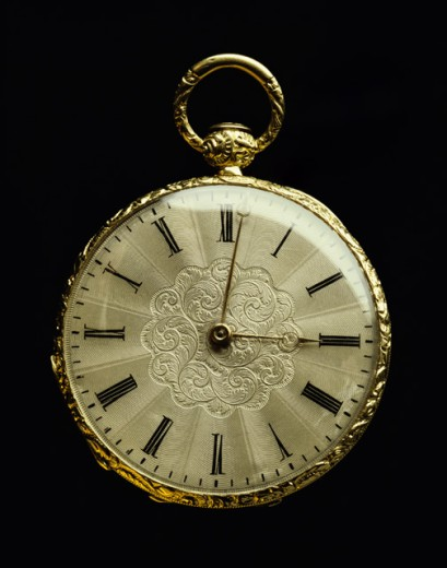 Stock Photo: 637R-379 Close-up of a pocket watch