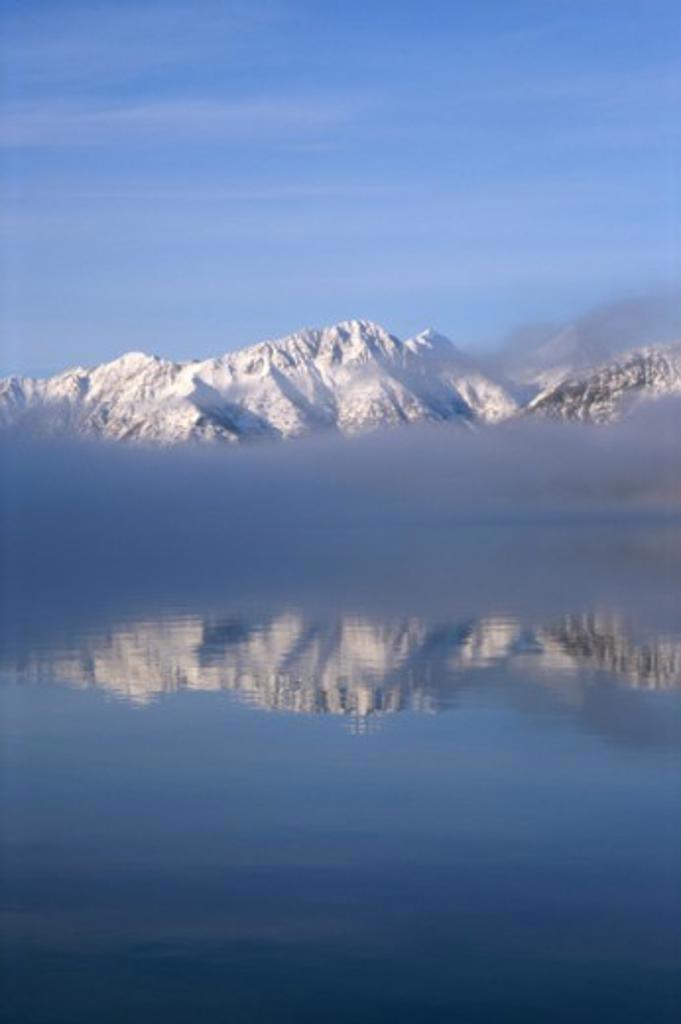 Turnagain Arm Cook Inlet Alaska USA  : Stock Photo