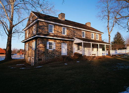Stock Photo: 655-1171 Daniel Boone Homestead