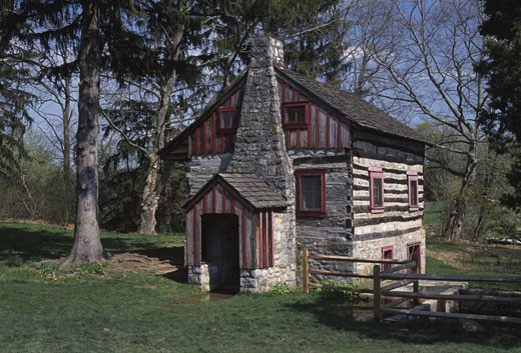 Mill in a park, Trexler Memorial Park, Allentown, Lehigh County, Pennsylvania, USA : Stock Photo