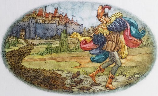 Stock Photo: 762-142838 The Pied Piper Of Hamlin