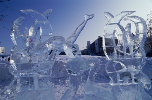 Stock Photo: 805-4868 Ice Sculpture