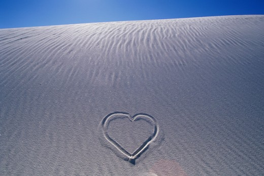 Stock Photo: 805-7530 White Sands National Monument New Mexico USA