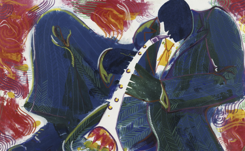 Stock Photo: 822-411 Clarinet (Fire)