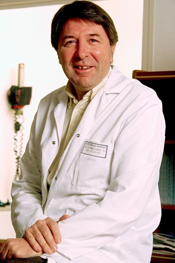 DR. CHARBONNEL. DR. CHARBONNEL Professor Bernard Charbonnel. Department of Endocrinology and Metabolic Disorders. General Hospital of Nantes, in the Loire-Atlantique department of France. : Stock Photo