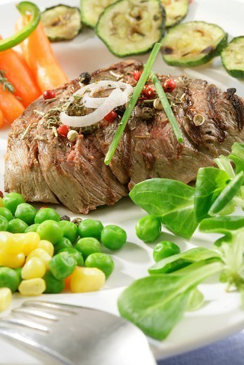 MEAT. MEAT Beef tenderloin. : Stock Photo