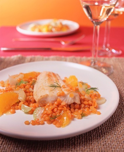 FISH DISH. FISH DISH Worldwide distribution except for United Kingdom and Germany. : Stock Photo