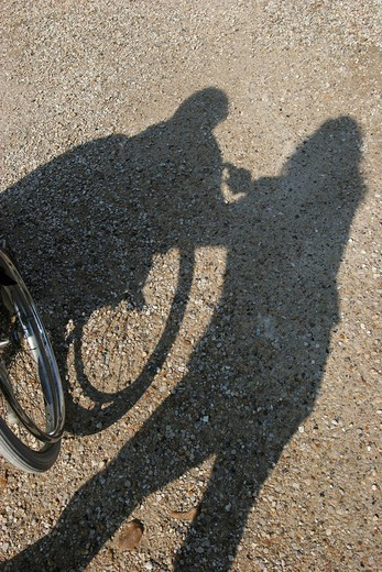 HANDICAPPED PERSON : Stock Photo