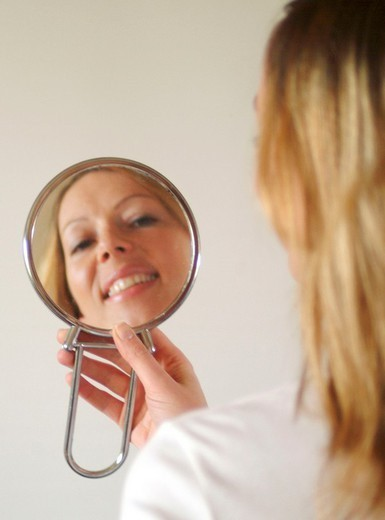 FACE CARE, WOMAN. FACE CARE, WOMAN Worldwide distribution except for United Kingdom and Germany. : Stock Photo