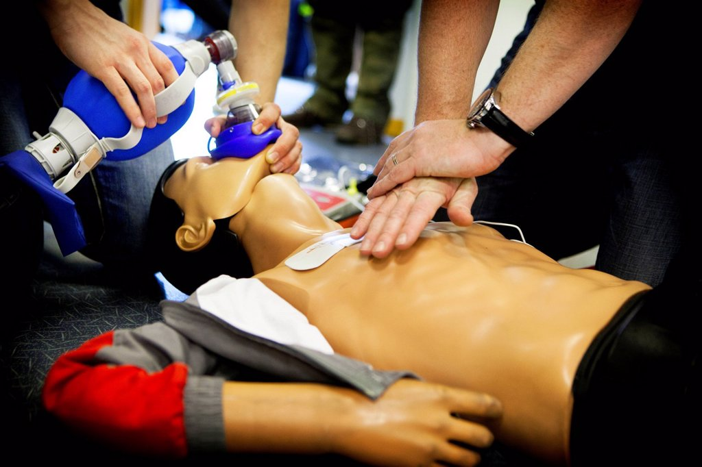 Stock Photo: 824-120288 FIRST AID