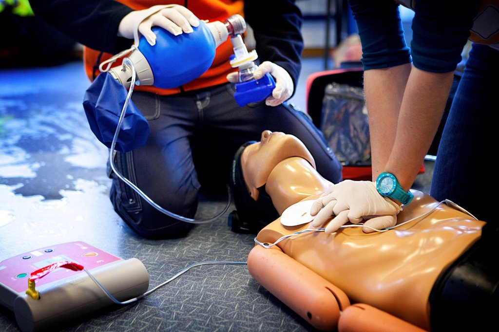 Stock Photo: 824-120321 FIRST AID