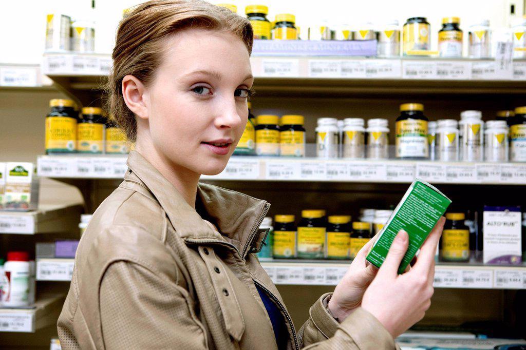Organic supermarket. : Stock Photo