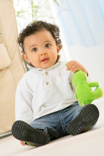 INFANT INDOORS. INFANT INDOORS Model. : Stock Photo