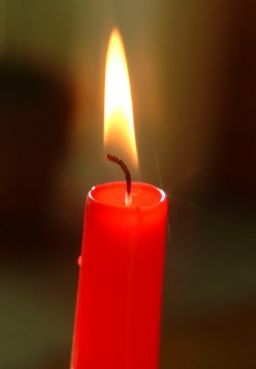 Stock Photo: 824-17425 CANDLE. CANDLE Worldwide distribution except for United Kingdom and Germany.