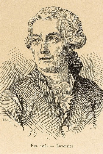 FAMOUS PEOPLE IN MEDICAL HISTORY. FAMOUS PEOPLE IN MEDICAL HISTORY Antoine Laurent de Lavoisier (1743.1794), French chemist. : Stock Photo