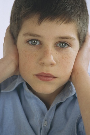 AUTISTIC CHILD. AUTISTIC CHILD Model. : Stock Photo