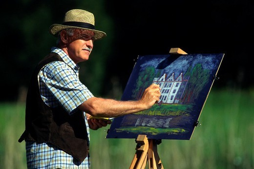 PAINTER. PAINTER Worldwide distribution except for United Kingdom and Germany. : Stock Photo