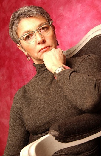 Stock Photo: 824-30865 50 YEAR-OLD WOMAN. 50 YEAR-OLD WOMAN Model.
