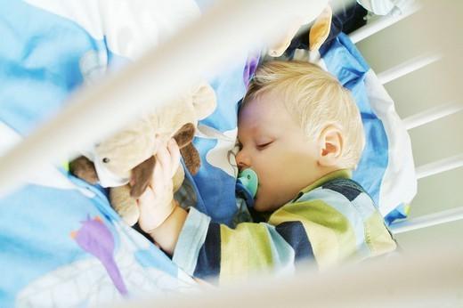 INFANT SLEEPING. INFANT SLEEPING Model. : Stock Photo