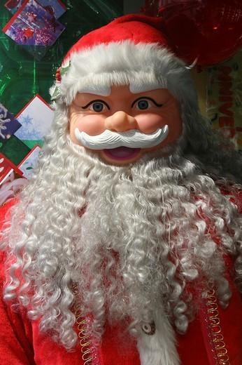 CELEBRATING CHRISTMAS. CELEBRATING CHRISTMAS Santa Claus. : Stock Photo