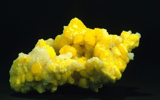 Stock Photo: 824-35289 SULPHUR. SULPHUR Worldwide distribution except for United Kingdom and Germany.
