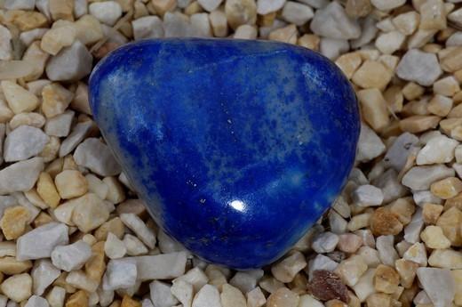 LAPIS LAZULI. Worldwide distribution except for United Kingdom and Germany. Lapis lazuli. : Stock Photo