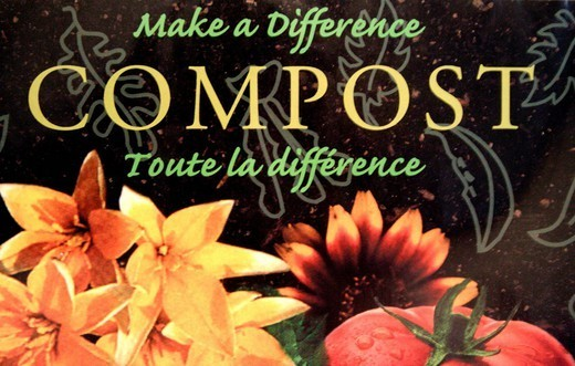 ECOLOGY, COMPOST. Making compost permits to recycle diverse wastes : organic wastes, facial tissues, newspapers, sawdust, woodash, food peels, cheese rind, vegetables and rotten fruits, garden wastes. It´s an ´ecofriendly gesture´. : Stock Photo