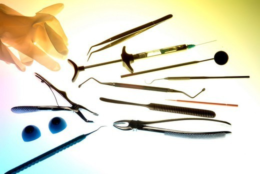 Stock Photo: 824-43507 DENTISTRY MATERIAL