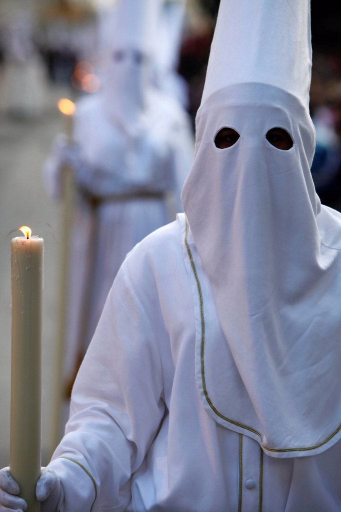 Easter week procession : Stock Photo