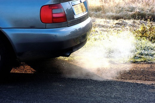 Stock Photo: 824-54756 AIR POLLUTION