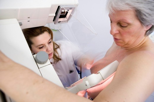 MAMMOGRAPHY EXAMINATION. MAMMOGRAPHY EXAMINATION Photo essay at the hospital of Meaux 77, France. : Stock Photo