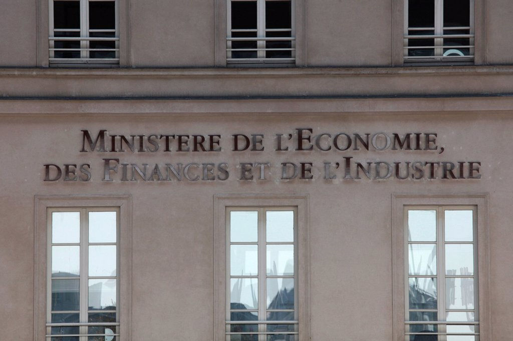 French finance & economy ministry : Stock Photo