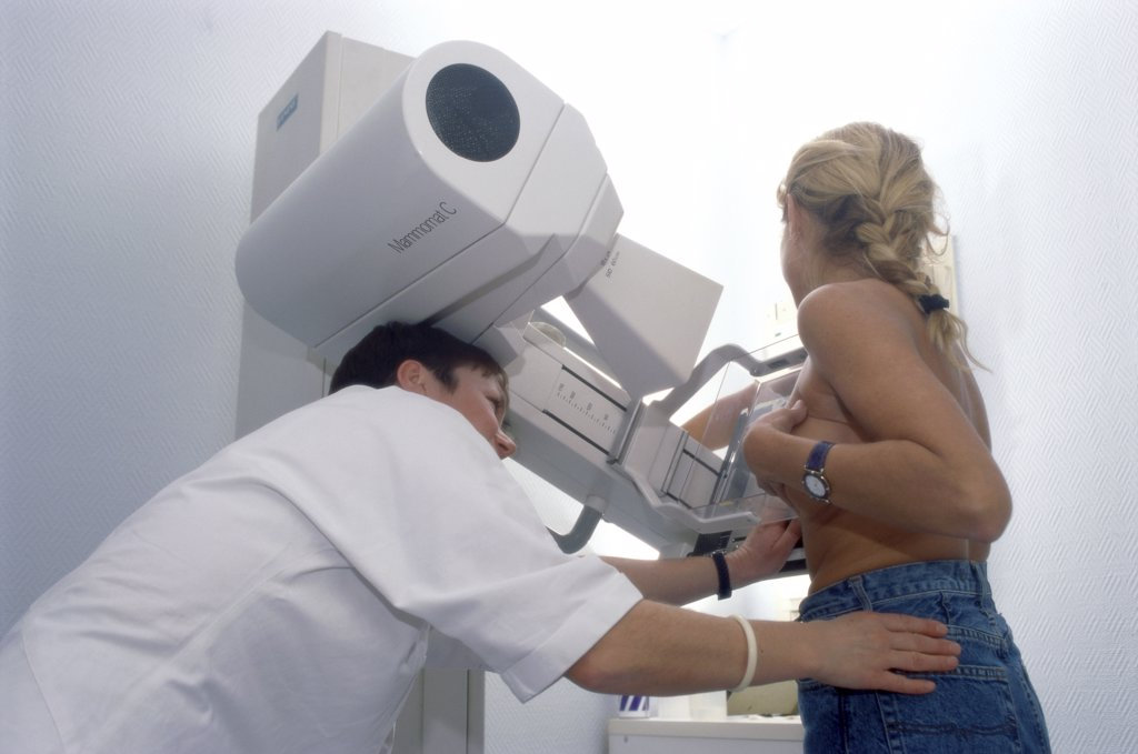 Stock Photo: 824-769 Mammography