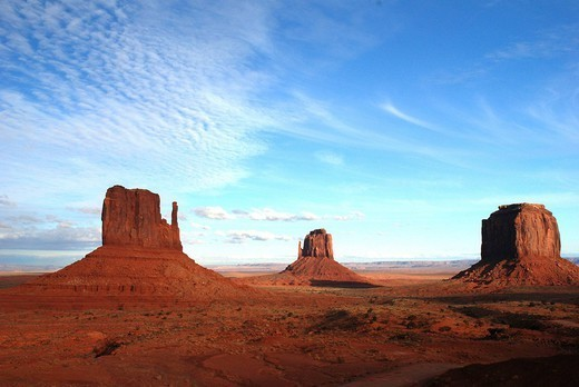 ARIZONA, USA. ARIZONA, USA Monument Valley from the entrance of the park. : Stock Photo