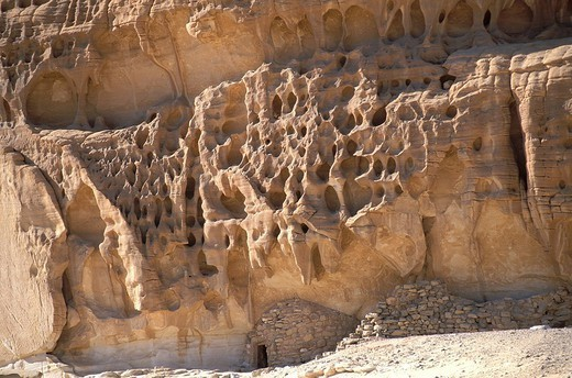 Stock Photo: 824-83667 SINAI, EGYPT. SINAI, EGYPT Desert of the Sinai peninsula in Egypt. Region of Magaza and Ain Khudra.