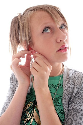 Stock Photo: 824-88182 ADOLESCENT INDOORS. Worldwide distribution except for South Africa