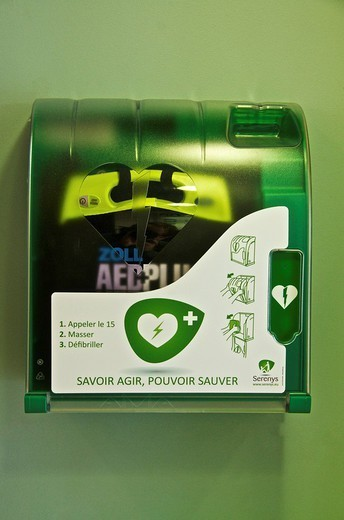Stock Photo: 824-88663 AUTOMATED EXTERNAL DEFIBRILLATOR