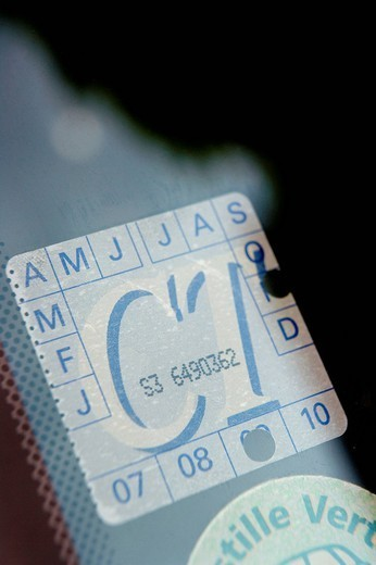 TECHNICAL INSPECTION. Stamp of technical inspection. : Stock Photo