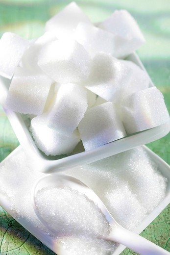 SUGAR. SUGAR Refined sugar. : Stock Photo