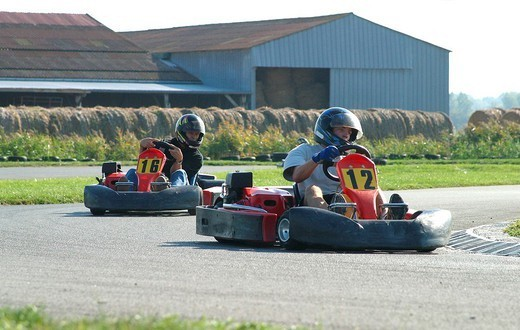 KARTING : Stock Photo