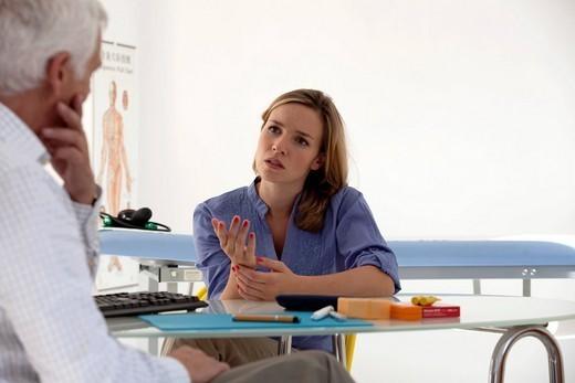 WOMAN PSYCHOLOGY : Stock Photo